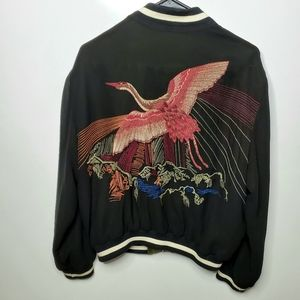 Zara: reversible embroidered jacket